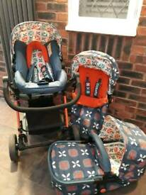 Cosatto Giggle 2 Travel System in Toodle Pip