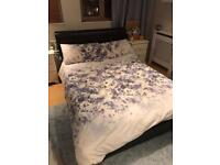 FREE Double faux leather bed frame