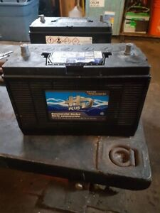 (3) group 31 batteries