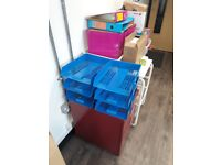 *** Office Clearout *** drawers, ring binders, stationary