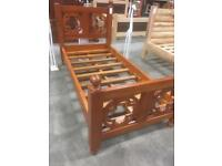 Mahogany single bed
