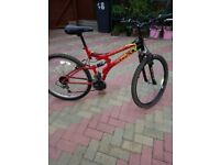 POLARIS MOUNTAIN BIKE DUAL SUSPENSION