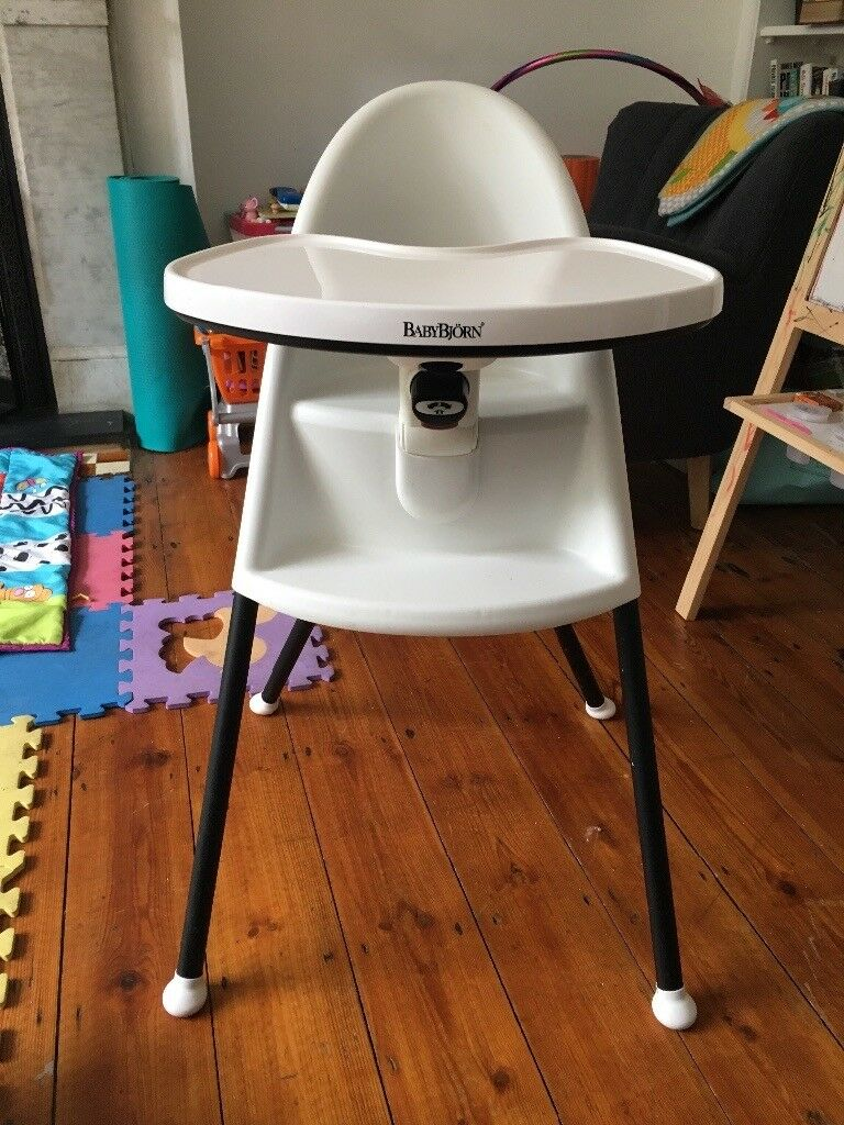 Baby bjorn high chair white | in Dulwich, London | Gumtree