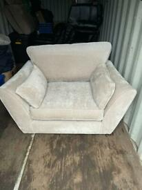 Gorgeous 3 Seater Sofa and Armchair