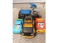 Batman ride on with mega cars