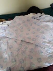 """""""Catfish"""" bed sheets with pillow case never been used"""
