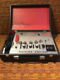 Watkins WEM Copycat tape delay pedal with foot switch included