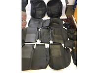PVC Leather Seat Covers / Protectors in Black for HONDA CRV 2007 to 2014 models