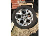 X4 Vauxhall wheels