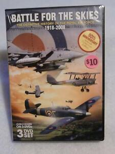 Battle for the Skies - History of the RAF DVD Box Set - New