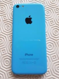 Apple iPhone 5c 16GB Blue Unlocked Excellent condition, with original box and Gel Case