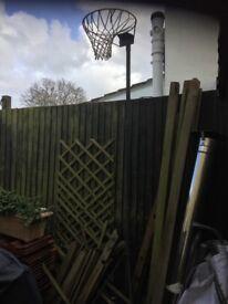 Basket ball/ netball post