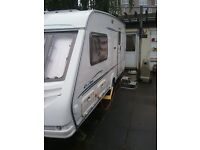 2002 Sterling Eccles Amber 2 berth caravan