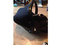 Maxi-cosi pebble car seat used