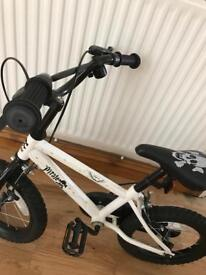 Pirate themed 16inch kids bike