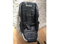 Quinny Buzz 3 chassis frame + seat unit + footmuff + changing bag + rear wheel + umbrella clip parts