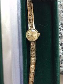 Ladies Rolex Precision Gold Watch