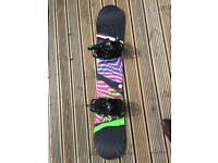 Salomon Spark Snowboard 39 with K2 Tryst bindings