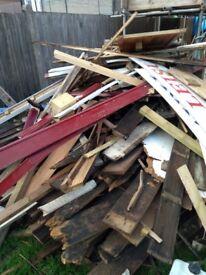 Scrap/fire wood