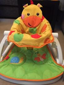 Fisher price sit me up giraffe - never used