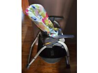 chicco reclining high chair