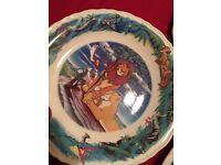 Disney collectible plates