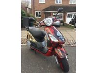 2010 Piaggio Fly 125cc Limited Edition £949