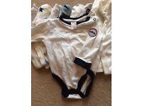 Baby boy vests - newborn up to 3 months
