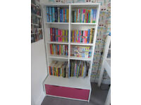 Girls Playroom or Bedroom bookcase / storage unit