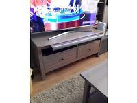 Hemnes tv unit 2 drawers