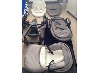 Silvercross surf travel system - grey