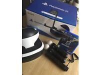 PlayStation VR + 2 Move Controllers + Camera + Driveclub VR game MINT CONDITION BOXED