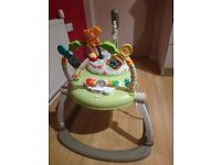 Jumperoo space saver as good as new