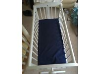 Cot with mattress