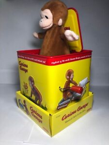 Curious George Musical Jack In The Box Collectable