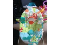 Mothercare baby bouncing seat
