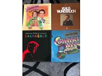 4 x LP box sets in mint cond. Golden Age Operetta, Klaus Wunderlich Bacharach & Country Hits