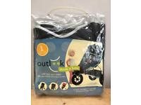 Outlook Shade a Babe Sun Shade for Single Buggy, Pram or Stroller