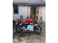Yamaha YZF R-125. Low miles! for sale