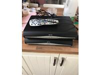 2x Sky HD boxes with one remote
