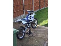 Motor cross bike