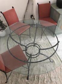 Stunning Italian wrought iron table