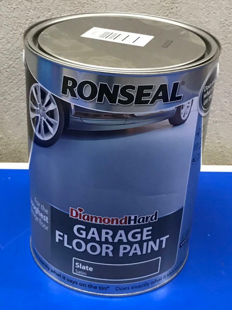 Ronseal Diamond Hard Garage Floor Paint Slate Satin 5 L In Bournemouth Dorset Gumtree