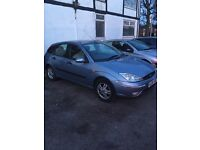 Ford Focus 1.6 Zetec manual with aircon