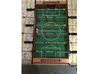 Table Football Wooden very good condition