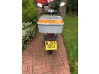 50cc Daelim Cordi Moped