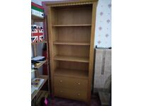 Bookcase and Drawers Unit