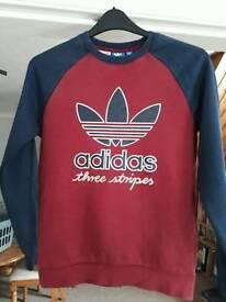 13- 14 boys Adidas jumper