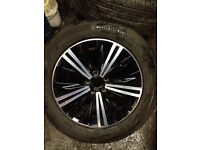 18 inch Nissan alloy