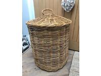 Beautiful Large Chunky Wicker Laundry Storage Basket